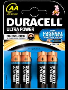 Duracell Ultra Power 4xAA